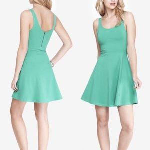 Express Mint Green Skater Dress